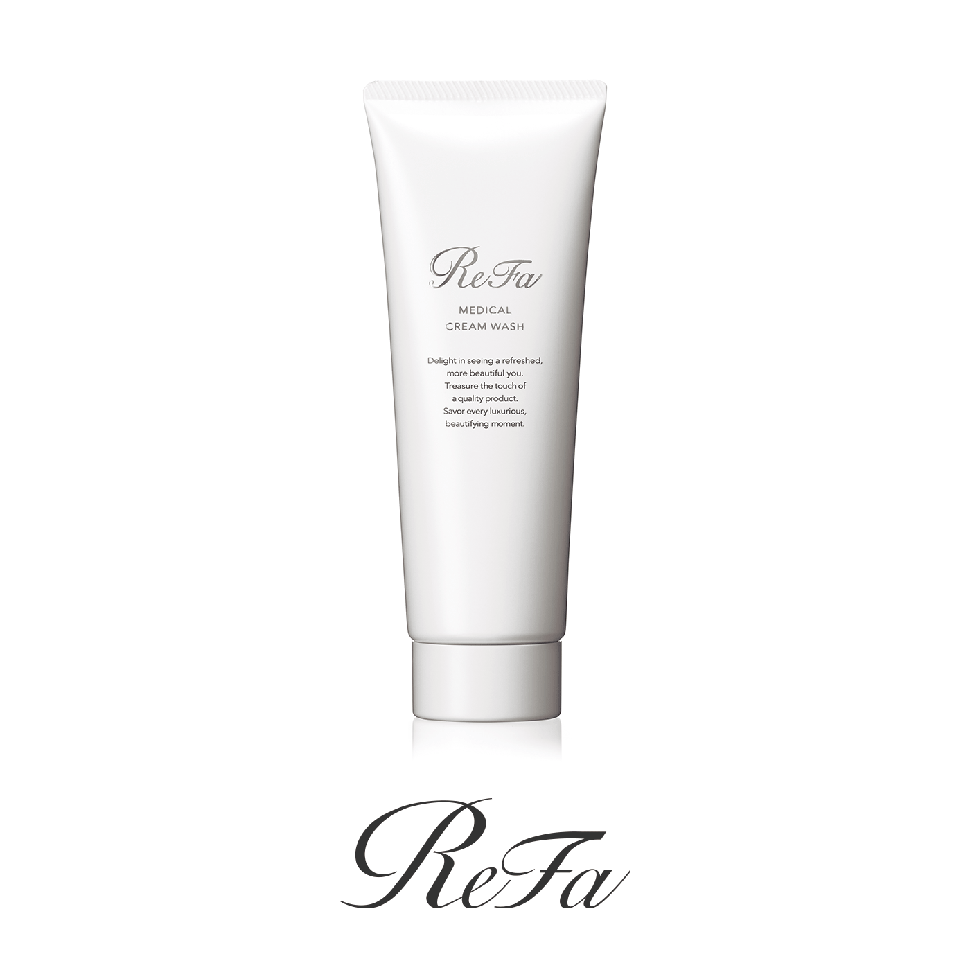 Introducing MEDICAL CREAM WASH that gently cleanses with a rich, fine foam.