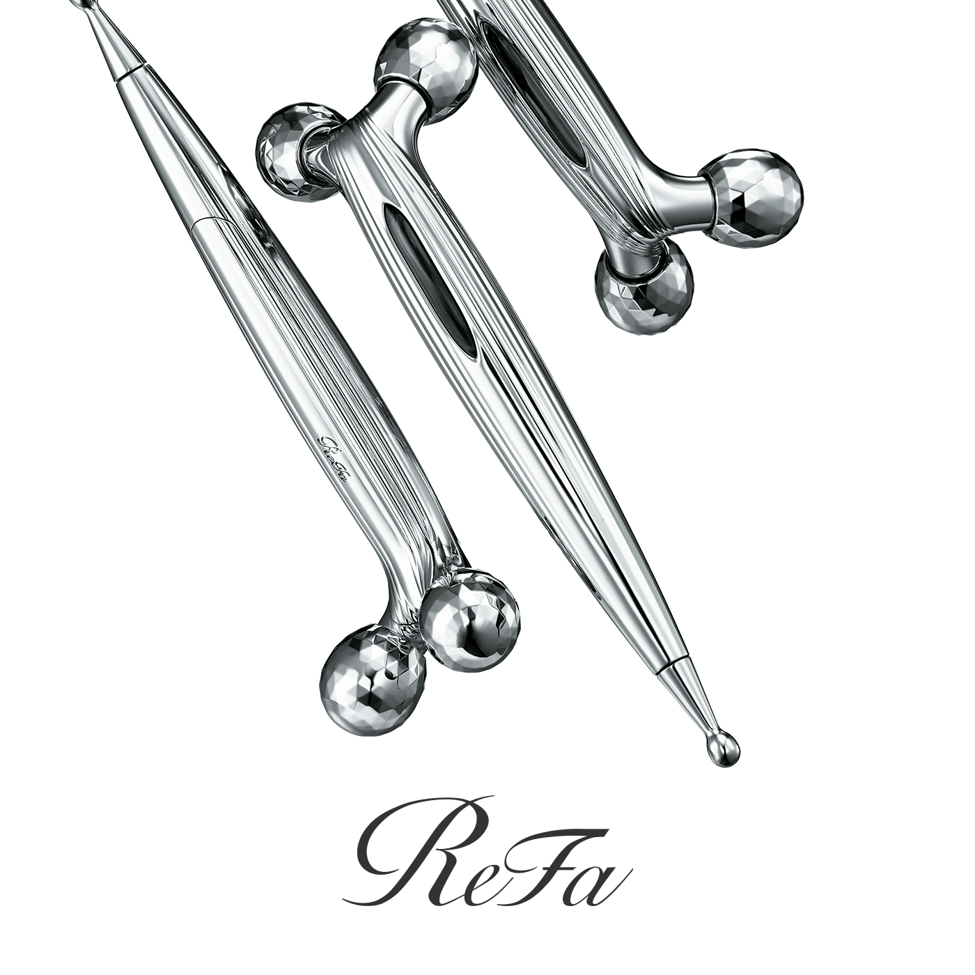 Precise and gentle kneading.<br/>Introducing ReFa S CARAT RAY, a sensational way to release the radiant expressiveness of your facial beauty.