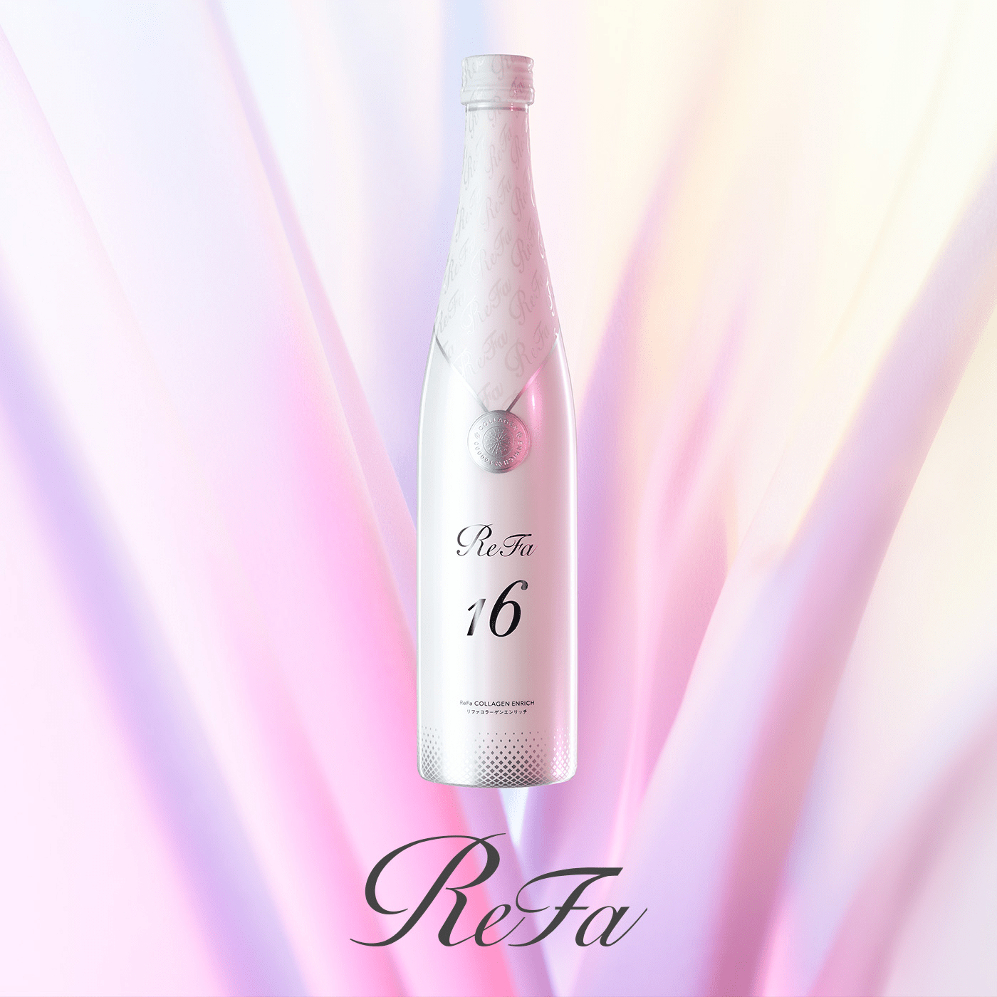160,000mg of highly concentrated, high-purity, low-molecular collagen. Introducing ReFa COLLAGEN ENRICH, for a new collagen experience that brings out the beauty of your skin and your whole body as well.