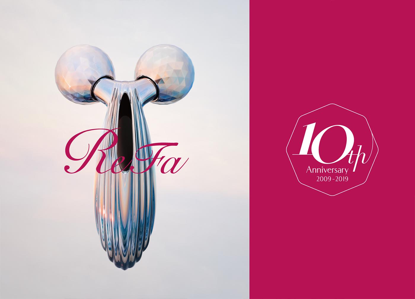 Beauty Brand ReFa Turns 10 in February 2019.