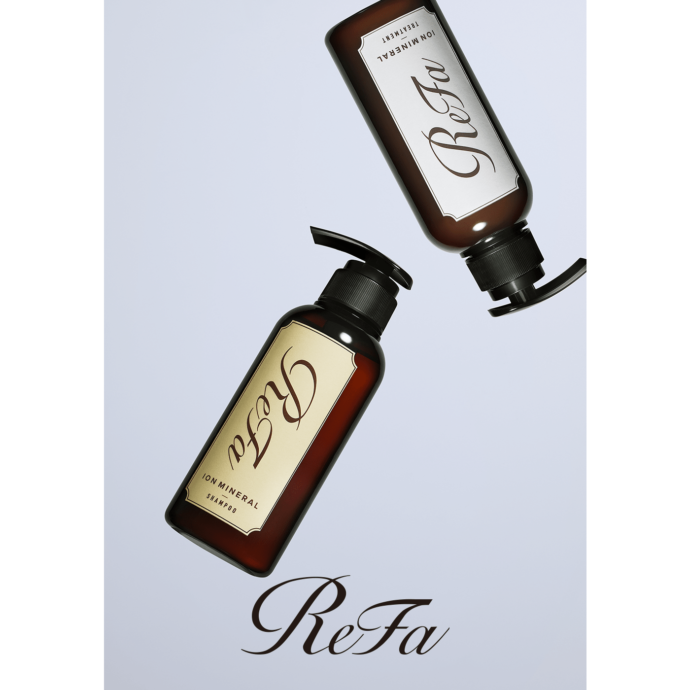 Introducing ReFa ION CARE SHAMPOO, a haircare regimen formulated with Ion Mineral* to restore your hair's ion balance for silky soft, healthy-looking results.