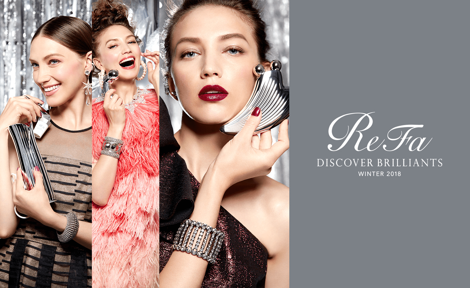 ReFa Winter Campaign 2018